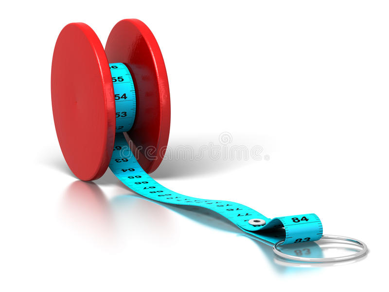 yoyo βάρους απώλειας επίδρασης σιτηρεσίου απεικόνιση αποθεμάτων