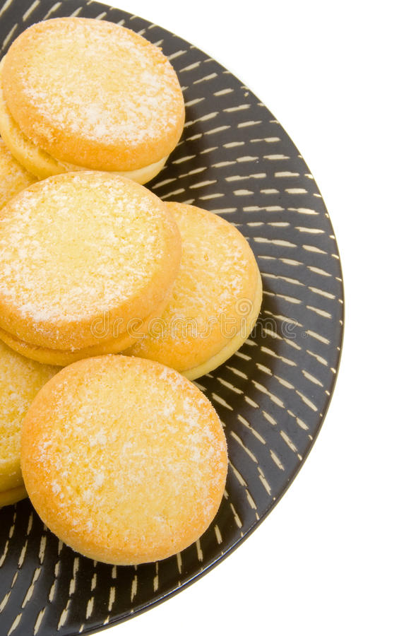 YoYo Shortbread Biscuits Stock Photo