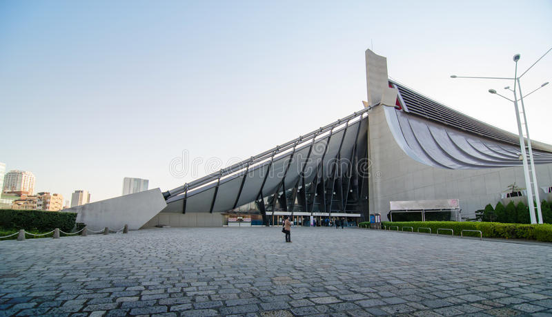 Free Form Roof Of Yoyogi National Gymnasium Tokyo Japan