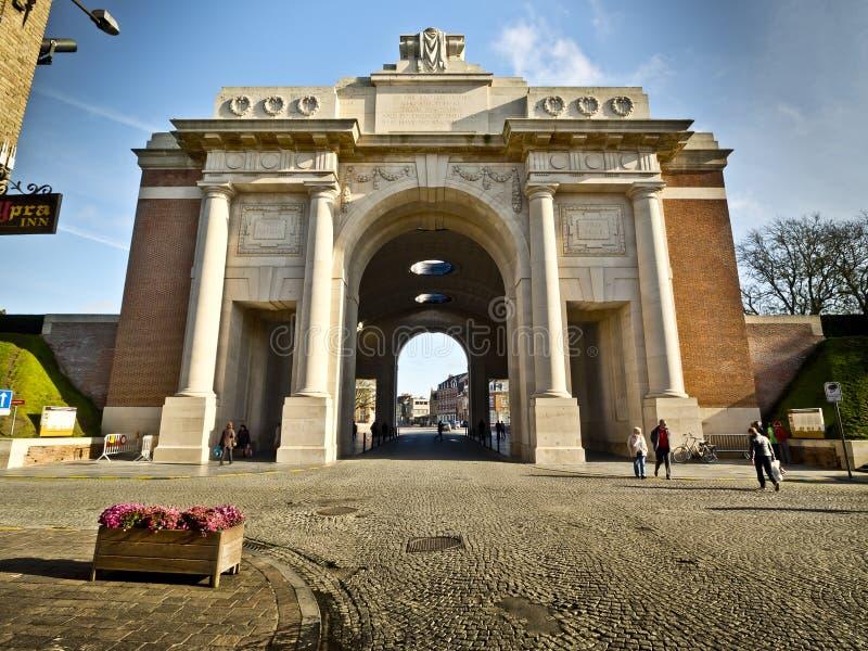 Ypres Menin Gate stock photos