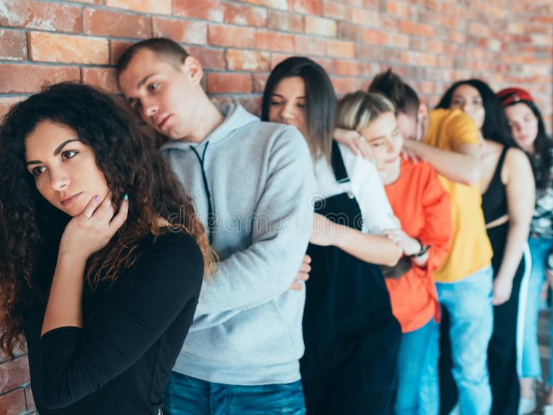 Yrkeskarriär för Millennials jobbintervju royaltyfri foto