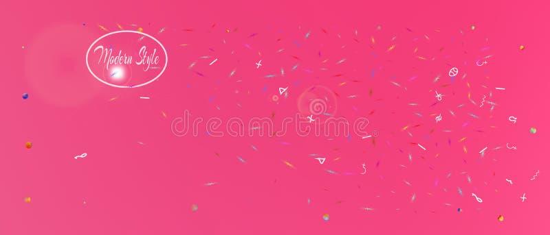 Yrkesmässig bred utrymmebakgrund för abstrakt begrepp ultra stock illustrationer