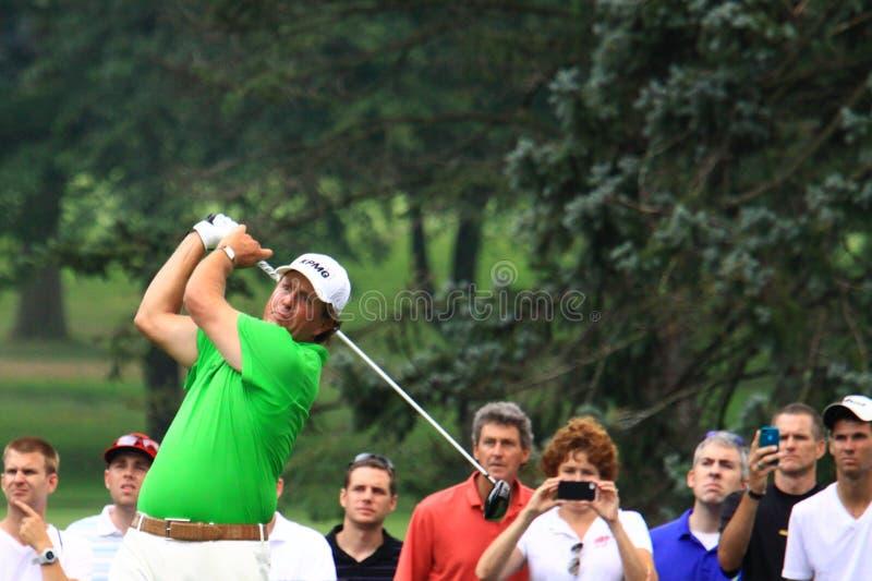 Yrkesmässig golfare Phil Mickelson arkivfoton