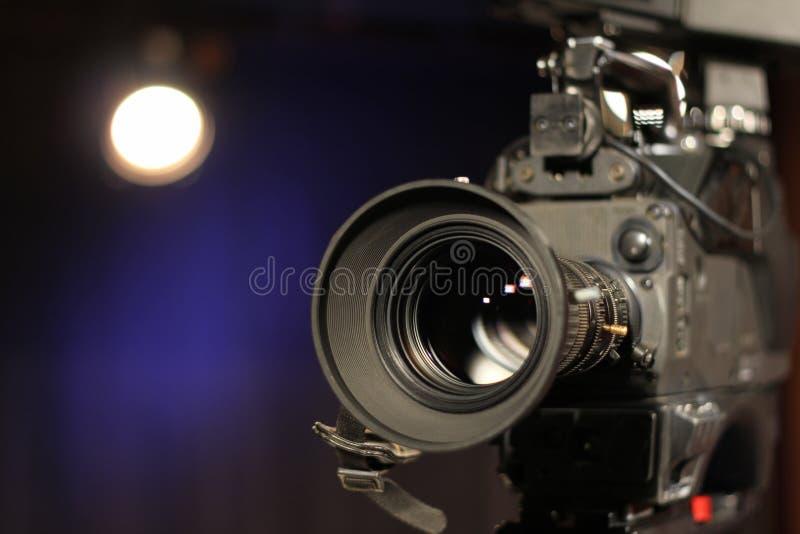 Yrkesmässig kamera arkivfoton