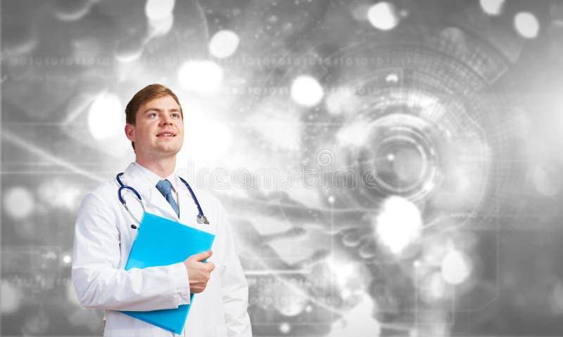 Yrkesmässig medicinsk behandling royaltyfri fotografi