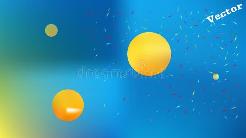 Yrkesmässigt abstrakt diagram för utrymmebakgrundsbild royaltyfri illustrationer