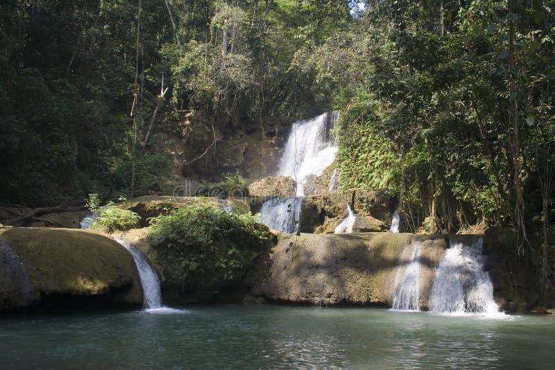 ys водопада реки стоковое изображение rf