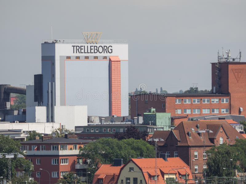Ystad και trelleborg στη Σουηδία στοκ φωτογραφίες με δικαίωμα ελεύθερης χρήσης
