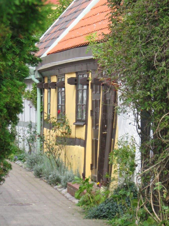 ystad Швеции дома стоковые фото
