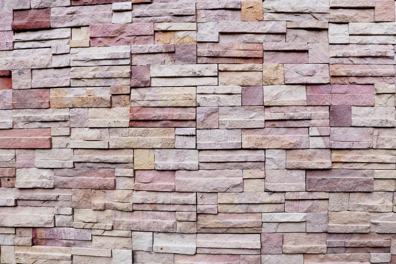 Ytbehandla den vita väggen av bakgrund för stenväggen royaltyfria bilder