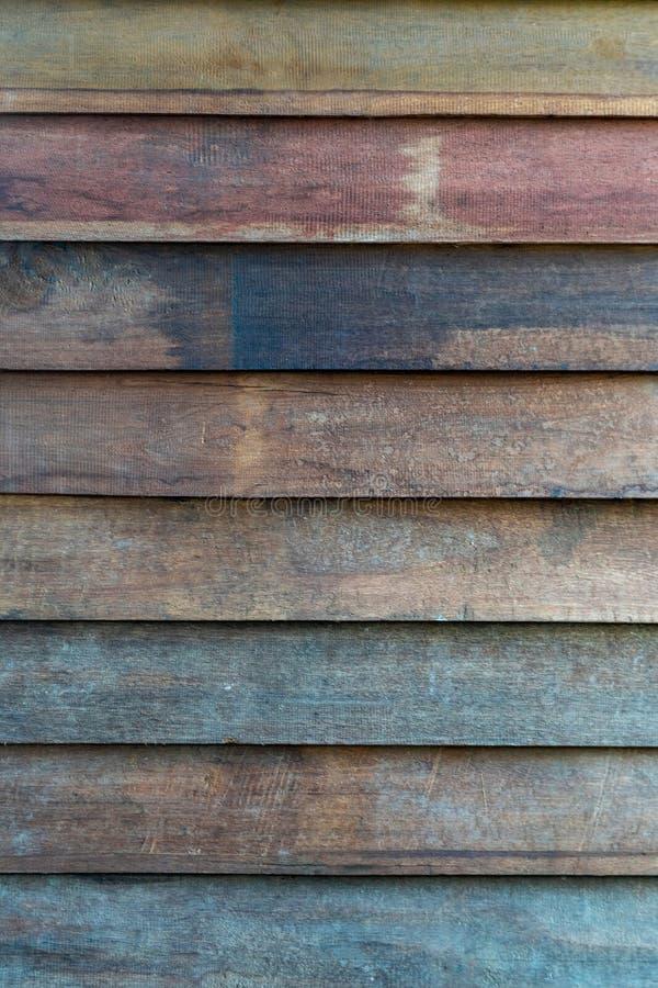 Ytbehandla trätextur för modellträbrädet arkivfoto