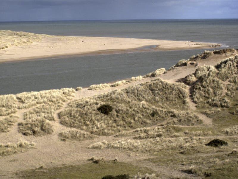 Ythan estuary royalty free stock photography