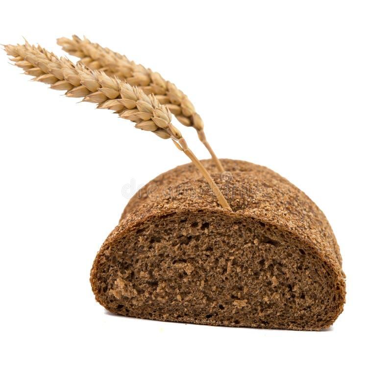 Żyto chleb odizolowywający zdjęcia royalty free