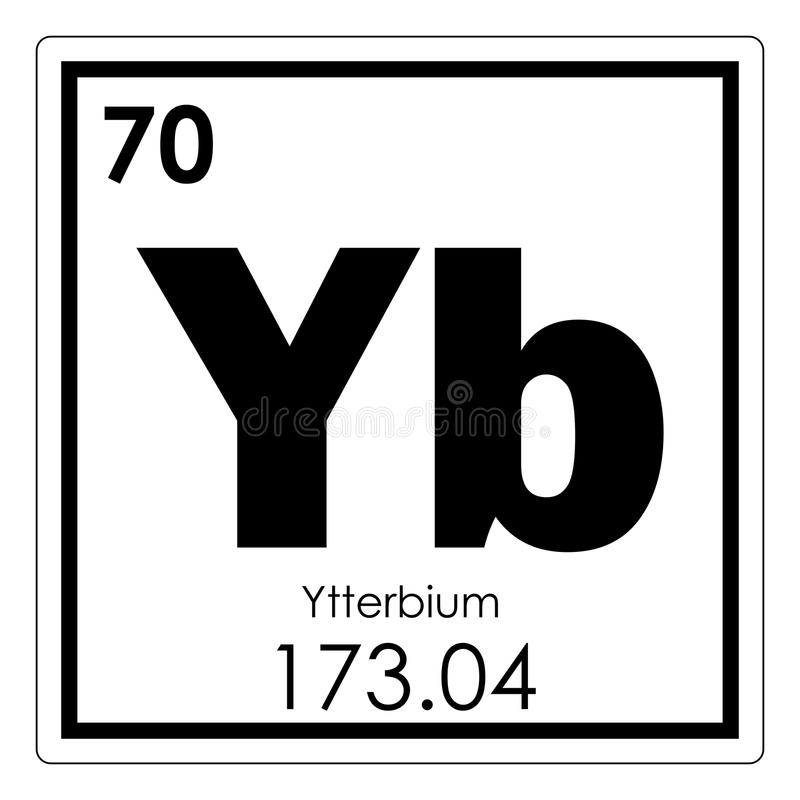 Ytterbium chemical element stock illustration illustration of download ytterbium chemical element stock illustration illustration of periodic 107855476 urtaz Choice Image