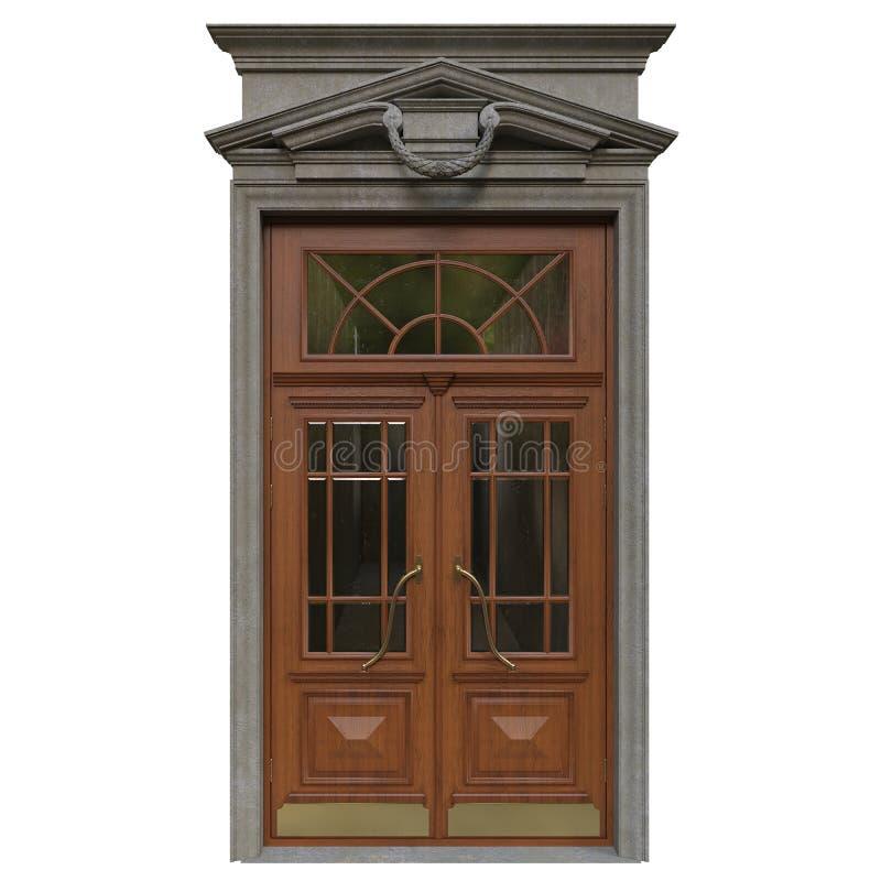 ytterhassan ii morocco för casablanca dörringång moské arkivfoto