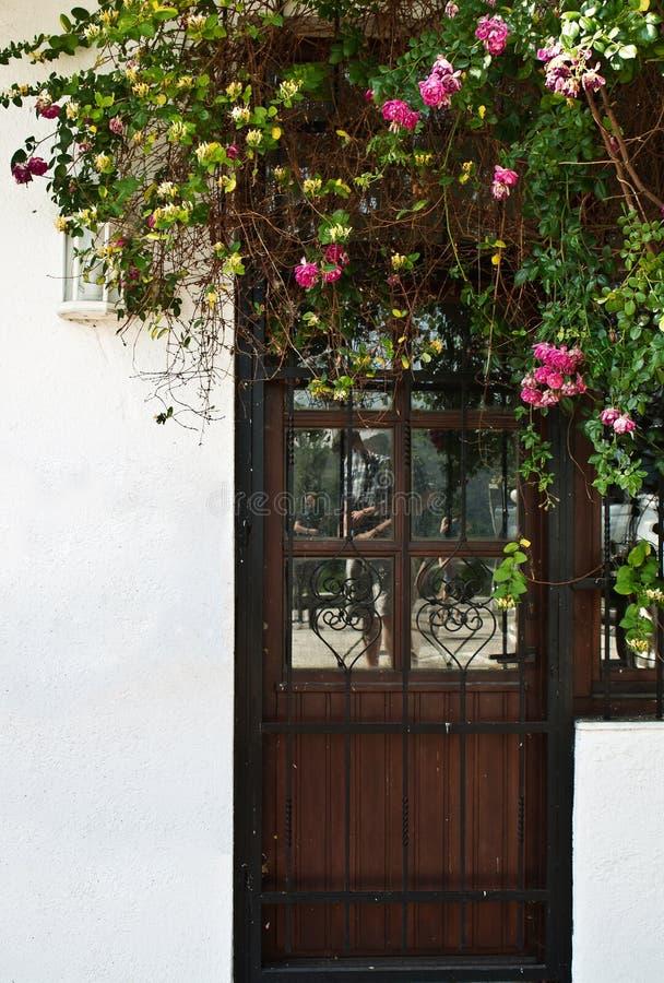 ytterhassan ii morocco för casablanca dörringång moské arkivbilder