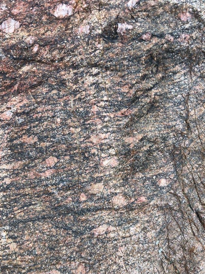 Yttersida av den naturliga granitstenen royaltyfri fotografi
