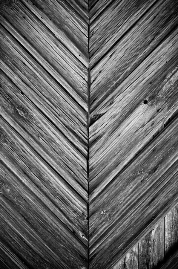 Yttersida av den svarta ladugårddörren fotografering för bildbyråer
