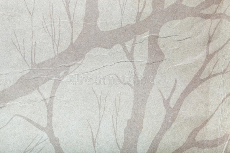 Yttersida av gammalt papper för texturerad bakgrund fotografering för bildbyråer