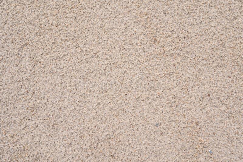 Yttersida av sand efter regn royaltyfria foton