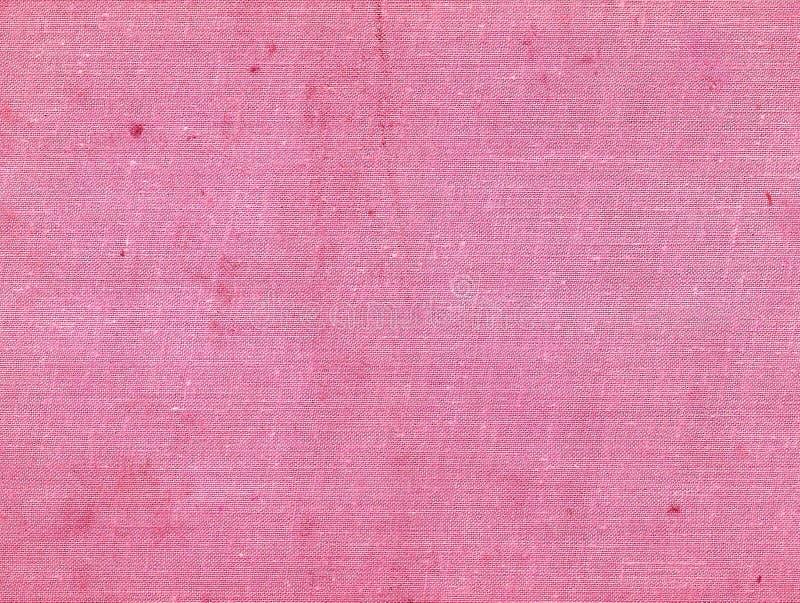 Yttersida för kanfas för rosa färgfärg smutsig royaltyfria bilder