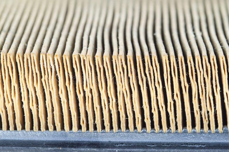 Yttersida för luftfilter arkivbild
