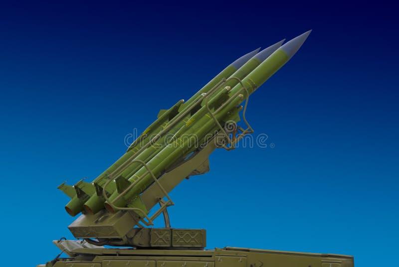 yttersida för missil för luftflygplan anti till arkivbild