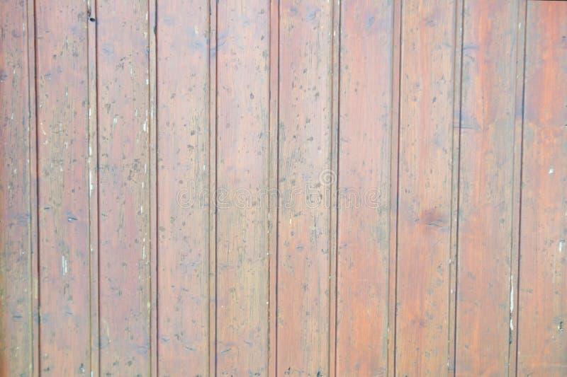 yttersida från bruna bräden på huset royaltyfri bild