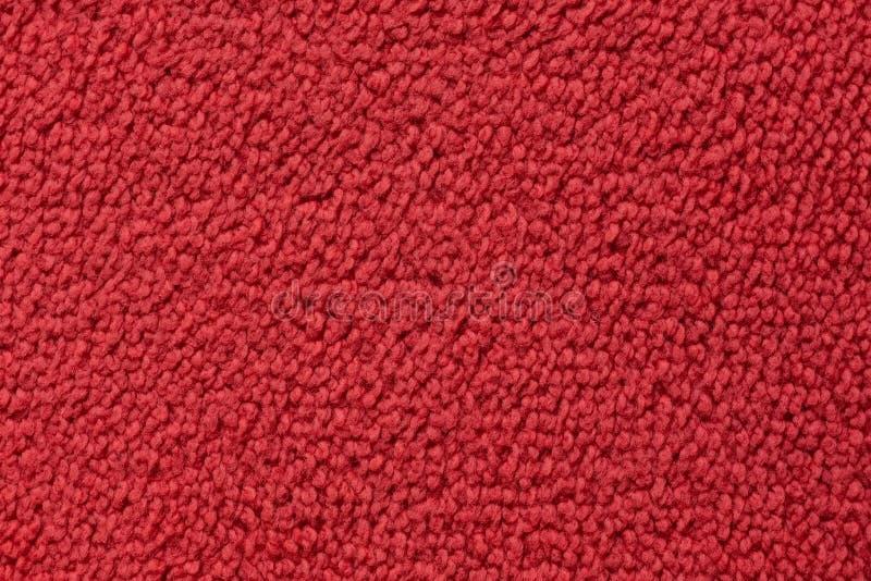 Yttersidaslut för röd matta upp royaltyfri bild