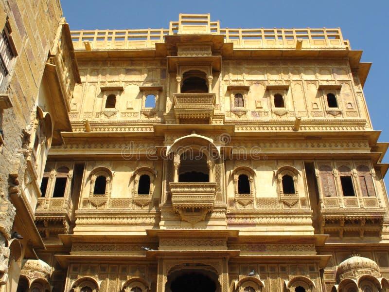 Arkitektur av jaisalmer rajasthan india arkivbilder