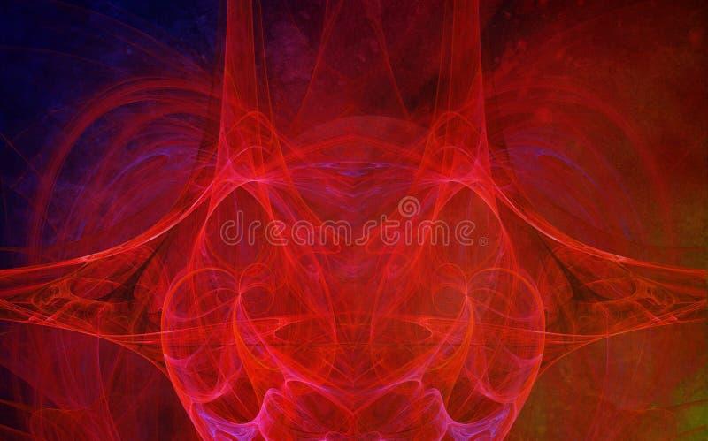 Yttre rymdbakgrund royaltyfri bild