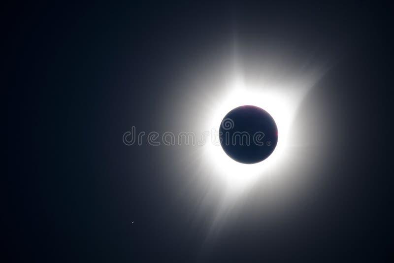 Yttre sol- krans royaltyfria bilder