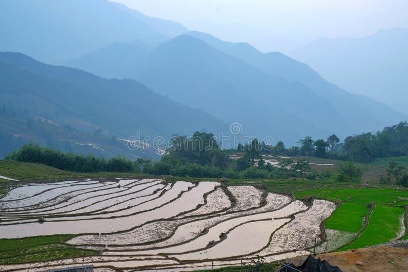 Yty, sapa, laocai, Vietnam imagens de stock