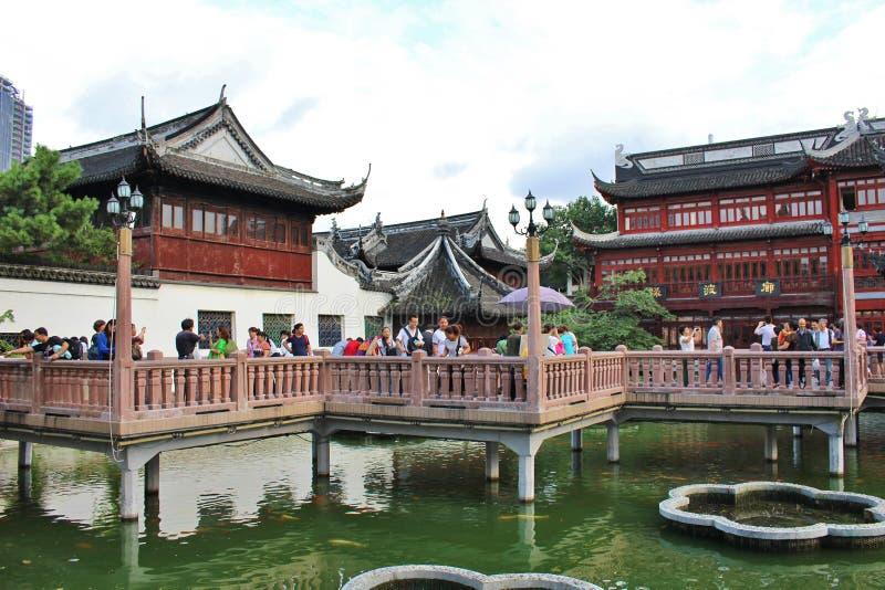 Yu庭院,上海 免版税图库摄影