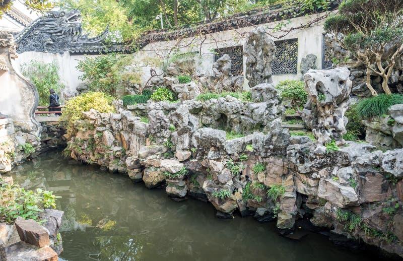 Сад Yu юаней Yu, Шанхай, Китай стоковое изображение