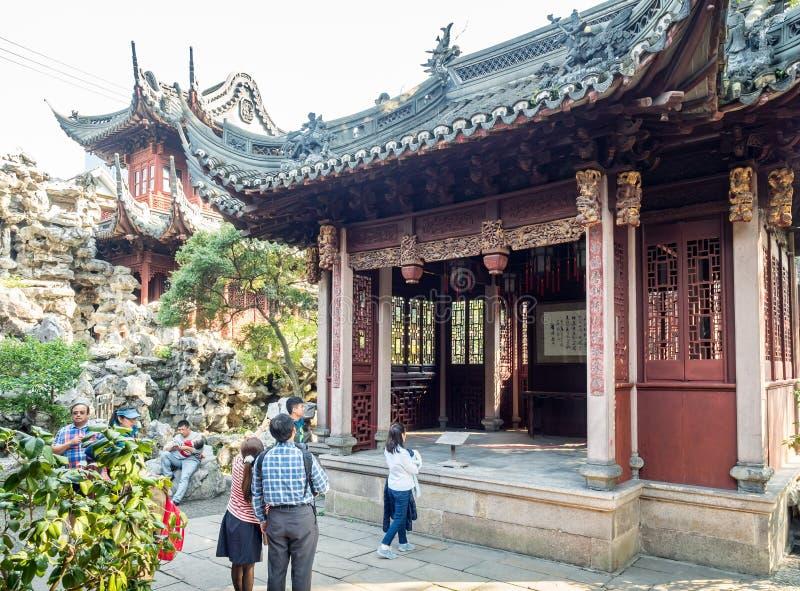 Yu Juan Yu ogród, Szanghaj, Chiny fotografia royalty free