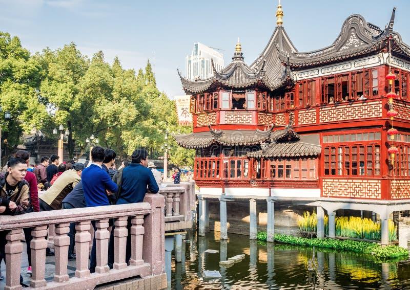 Yu Yuan Yu Garden, Shangai, China foto de archivo libre de regalías