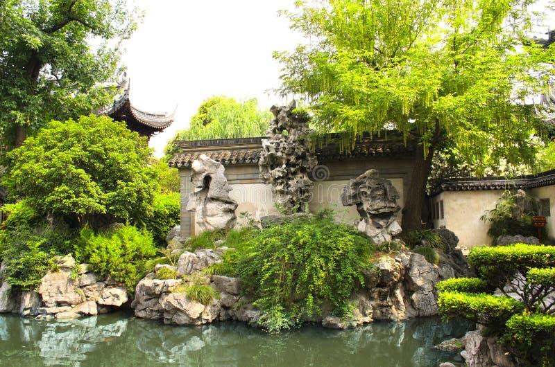 Yu Yuan Gardens, Shanghai, China stock images