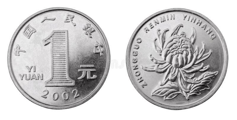 yuan стоковое изображение rf