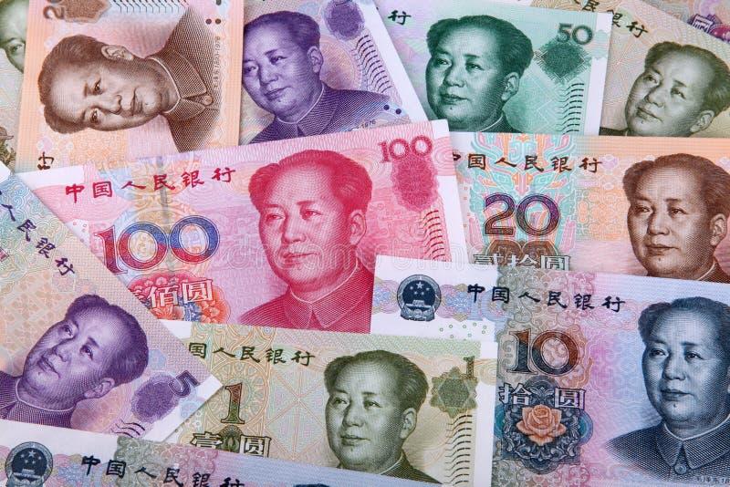 Yuan chinês foto de stock