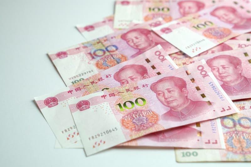 Yuan chinês, 100 denominação fotos de stock