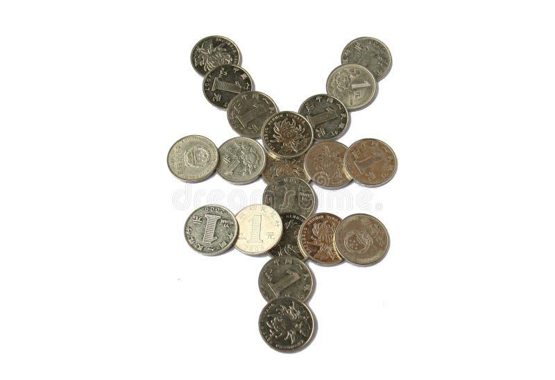 yuan chinois de pièce de monnaie image stock