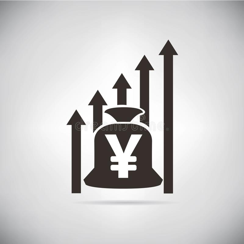 Yuan Currency ilustración del vector