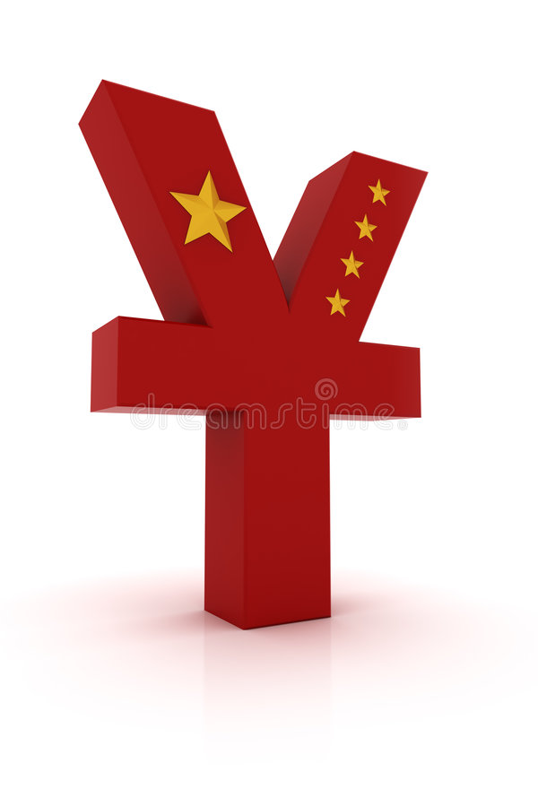 Download Yuan sgn stock illustration. Image of white, wealth, sale - 8648122