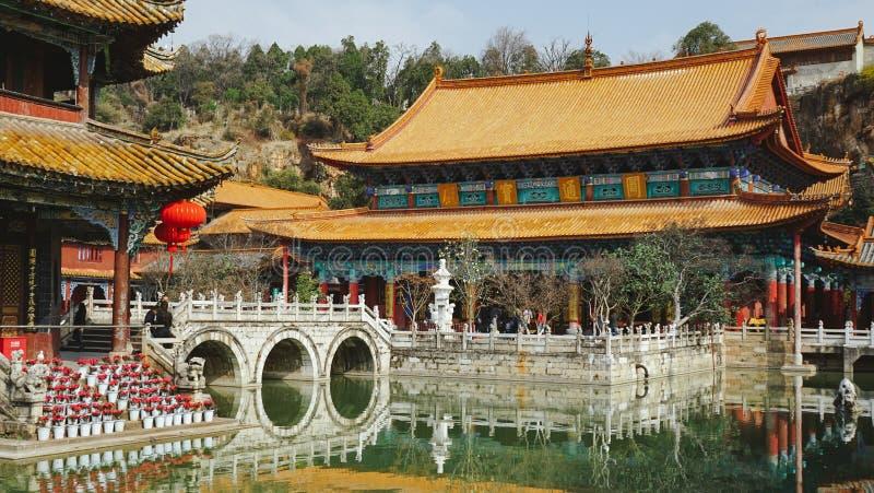 Yuantong świątynia, Kunming, Chiny zdjęcia royalty free