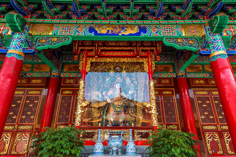 Yuantong Kunming Temple of Yunnan. Yuantong Kunming Temple of Yunnan, China stock image