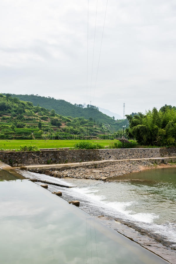 Yuanxi river royalty free stock photos