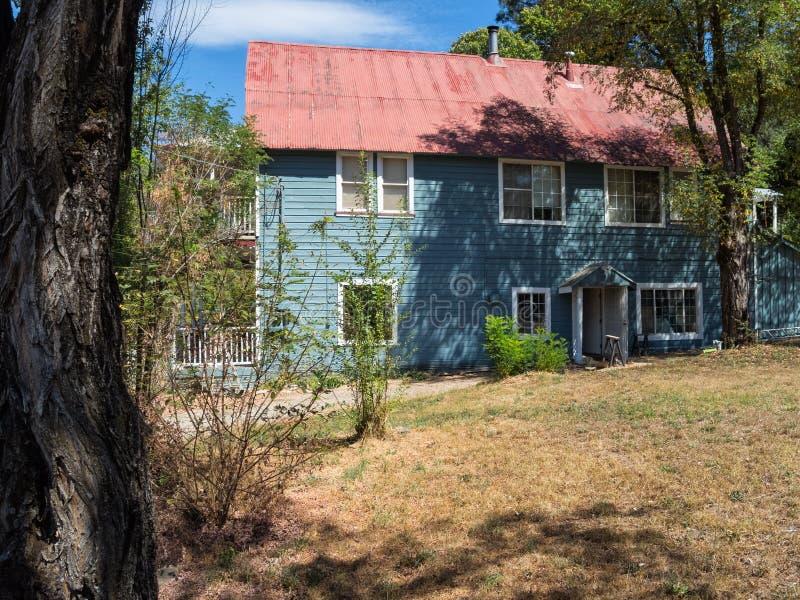 Yuba dom, Waszyngton, Kalifornia zdjęcie royalty free