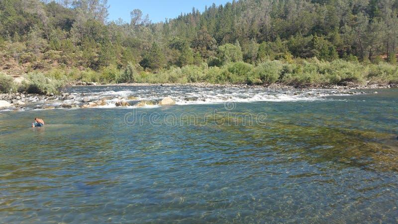 Yuba flod fotografering för bildbyråer