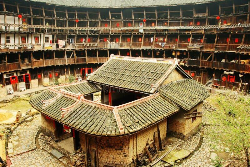 Yuchang Fujian Tulou royalty-vrije stock fotografie